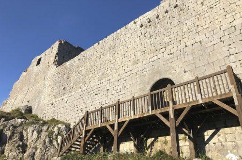 Castillo Montsegur entrada