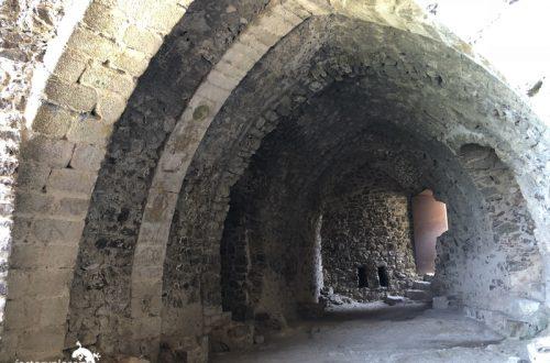 castillo de montsoriu. bodega