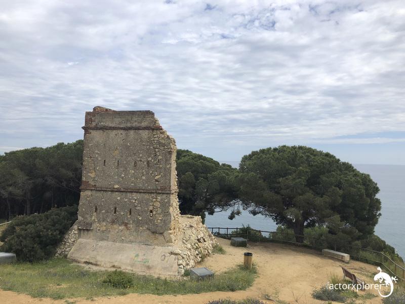 torres de telegrafo. nº 53 óptica militar Calella