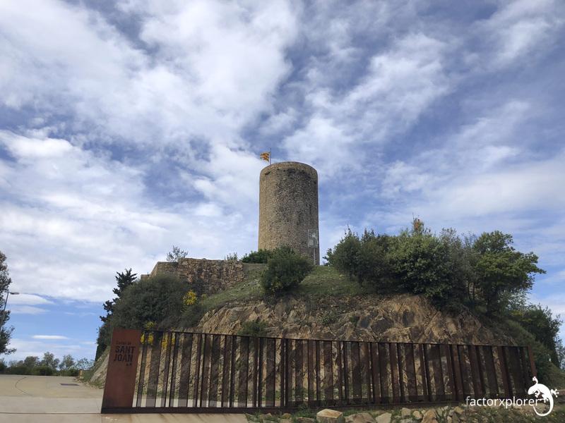 castillo Sant Joan. blanes