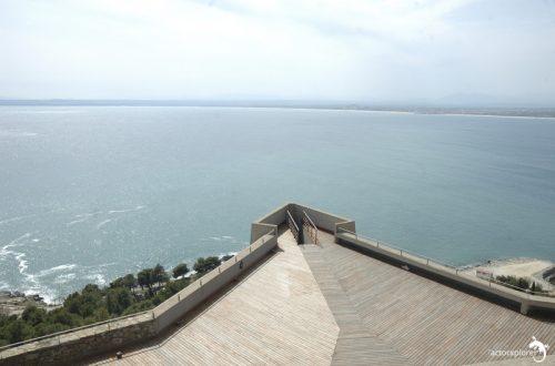 castillo de la trinitat, plataforma orientada al mar