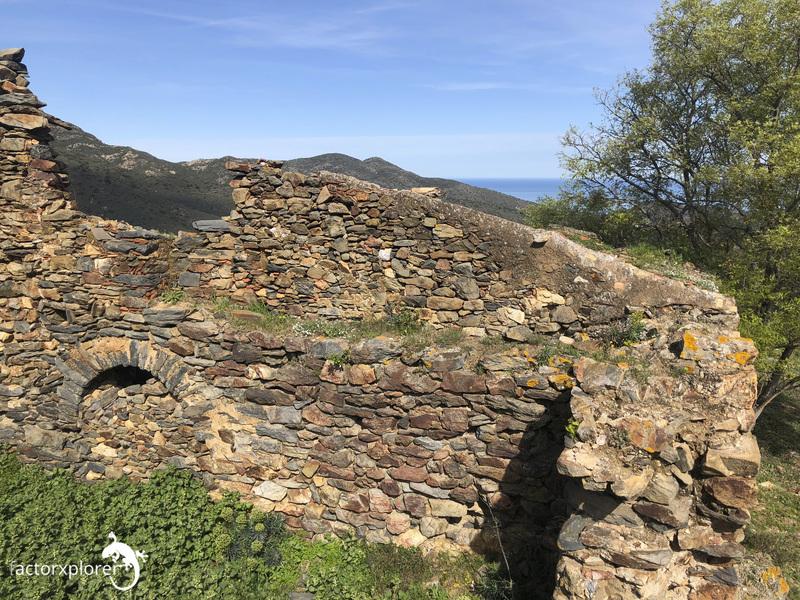 castillo de molinas. vista des de los muros