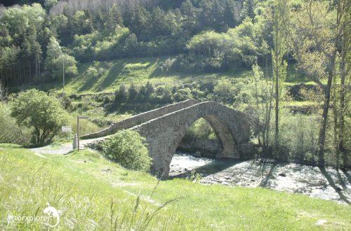 puente de los peregrinos, canfranc