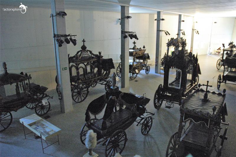 carrozas. vista del museo