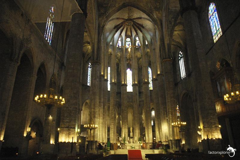basilica de santa maria del mar. 48 centro