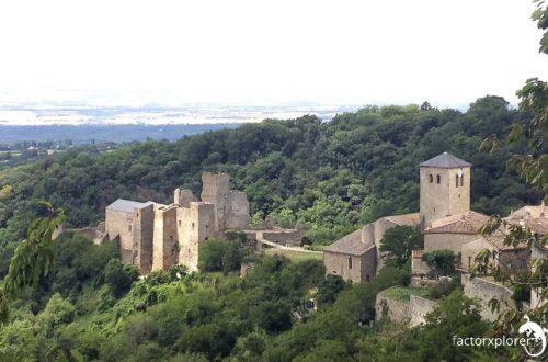 castillo de saissac. chateau de saissac