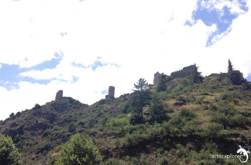 los 4 castillos de lastours. les 4 châteaux de Lastours