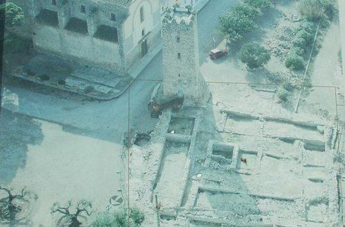 torre de l'aldea. 01 des de el aire