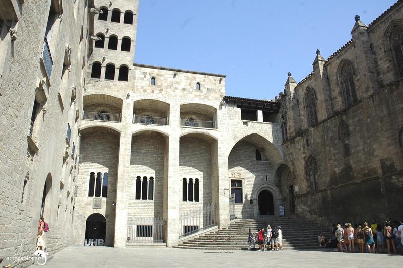 plaza del rey bcn