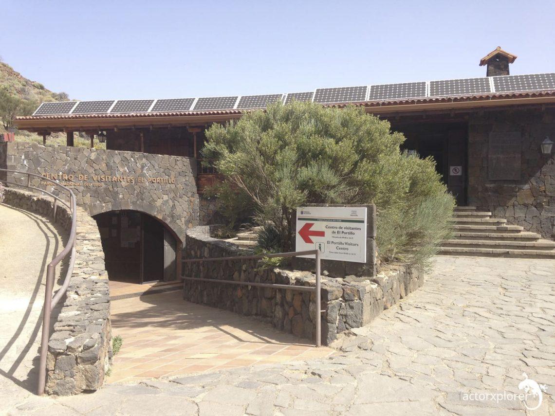 Centro de Visitantes El Portillo, los realejos