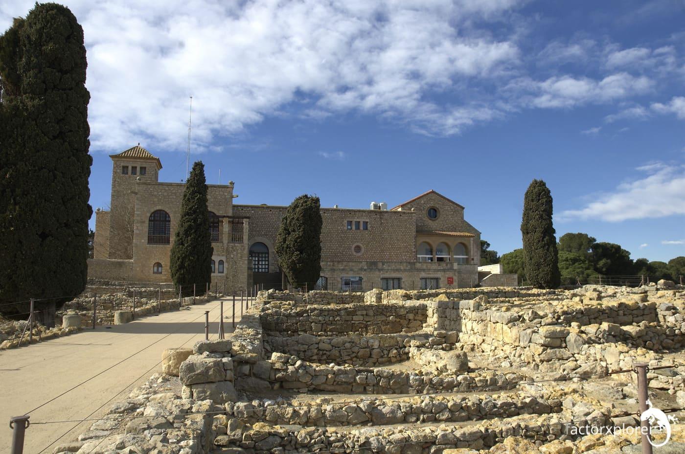 museo de las ruinas de ampurias