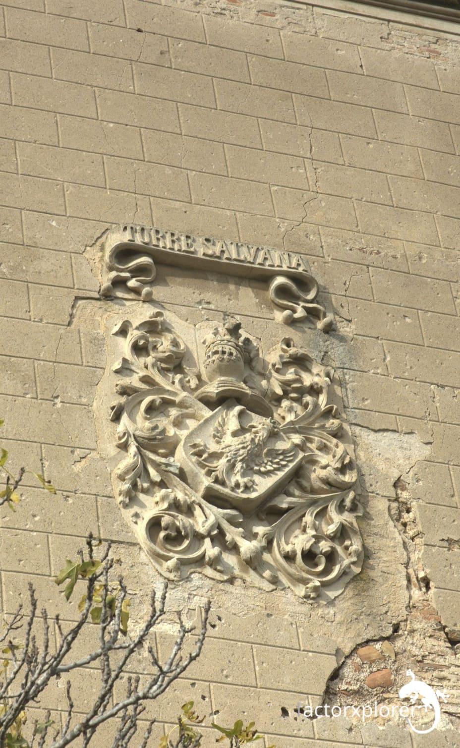 torre salvana. escudo