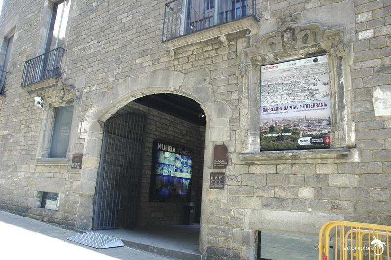 entrada MUHBA Barcelona
