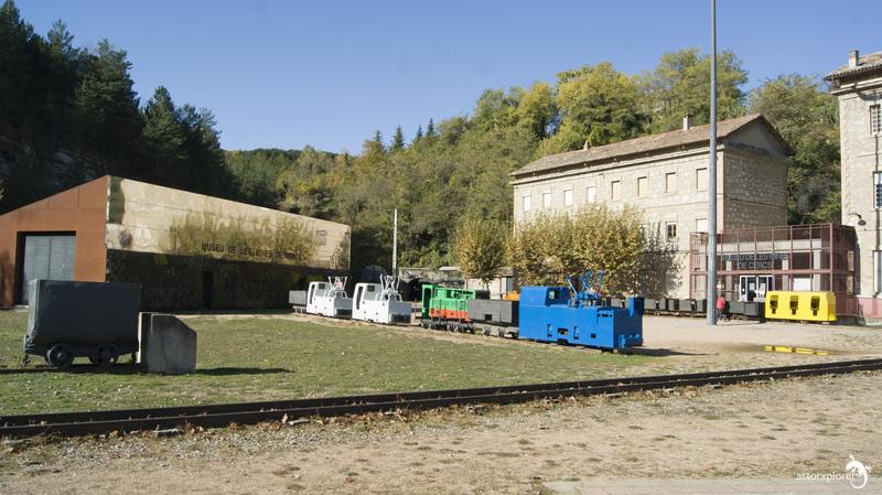 colonia de sant corneli y mina de sant ramon. 00 entrada al museo